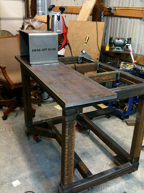 Fabrication / Fixturing / Welding table build