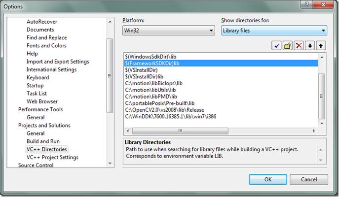 Go!!: การคอมไพล์ไลบารี wiiuse ด้วย Visual Studio 2008