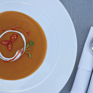 Sweet Potato and Coconut Soup.