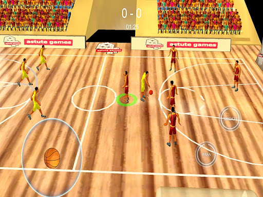 World Basketball Games Cup 3D