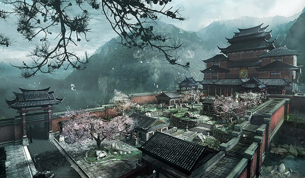 Chinese-landscape-illustration