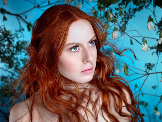 Red-hair-woman