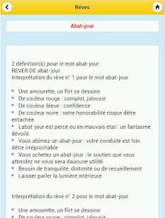 Dictionnaire Des Rêves- screenshot thumbnail