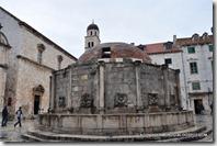 Dubrovnik. Old Town. Gran Fuente de Onofrio 2