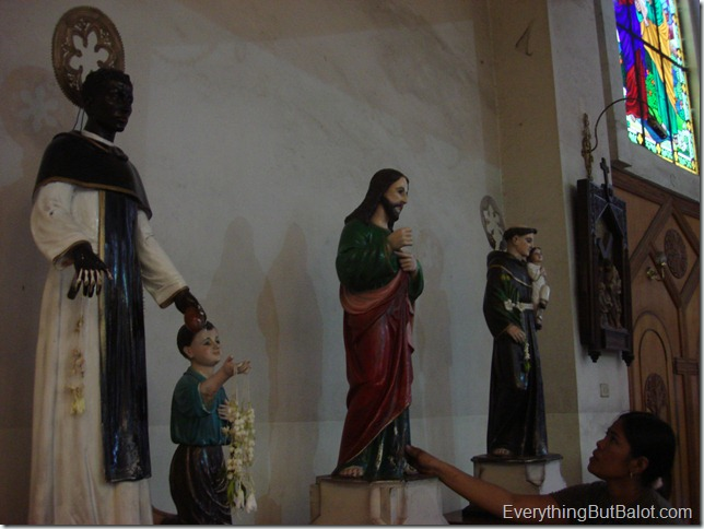 Statues of Saints at Antipolo Cathedral