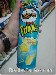 Fruit & Nut: Lemon & Sesame Pringles