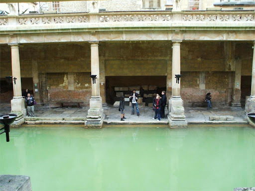 The Great Bath viewed from the upper level