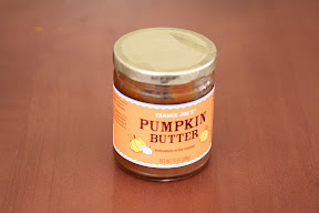 photo of a jar of pumpkin butter
