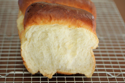 photo of a loaf of milk bread