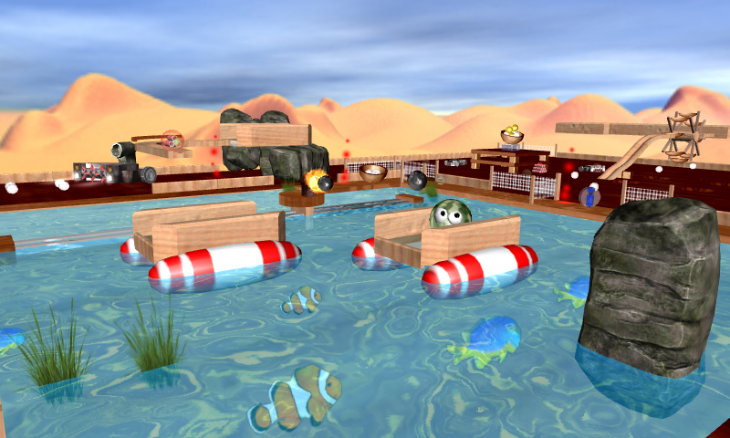 Ball Patrol 3D - screenshot