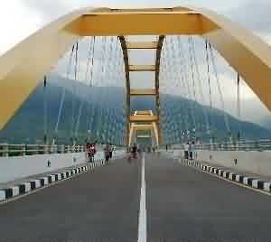 Palu Bridge, One of the Most Beautiful Bridges in Indonesia