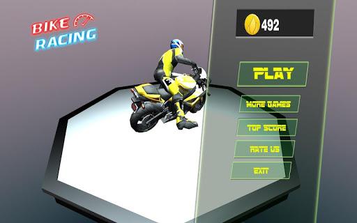 摩托车赛车; 的自行车 赛车; Motorbike Race