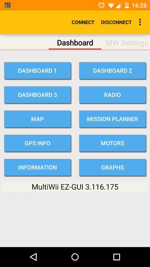 EZ-GUI Ground Station- screenshot