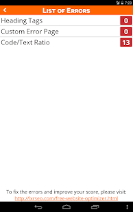 SEO Site Grader-Website Score|玩商業App免費|玩APPs