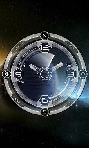 Compass Galaxy Theme HD LWP