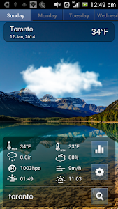 Swipe Weather screenshot 1