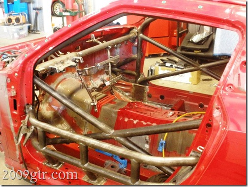 World Challenge Gt Roll Cage Progress 2009gtr Com