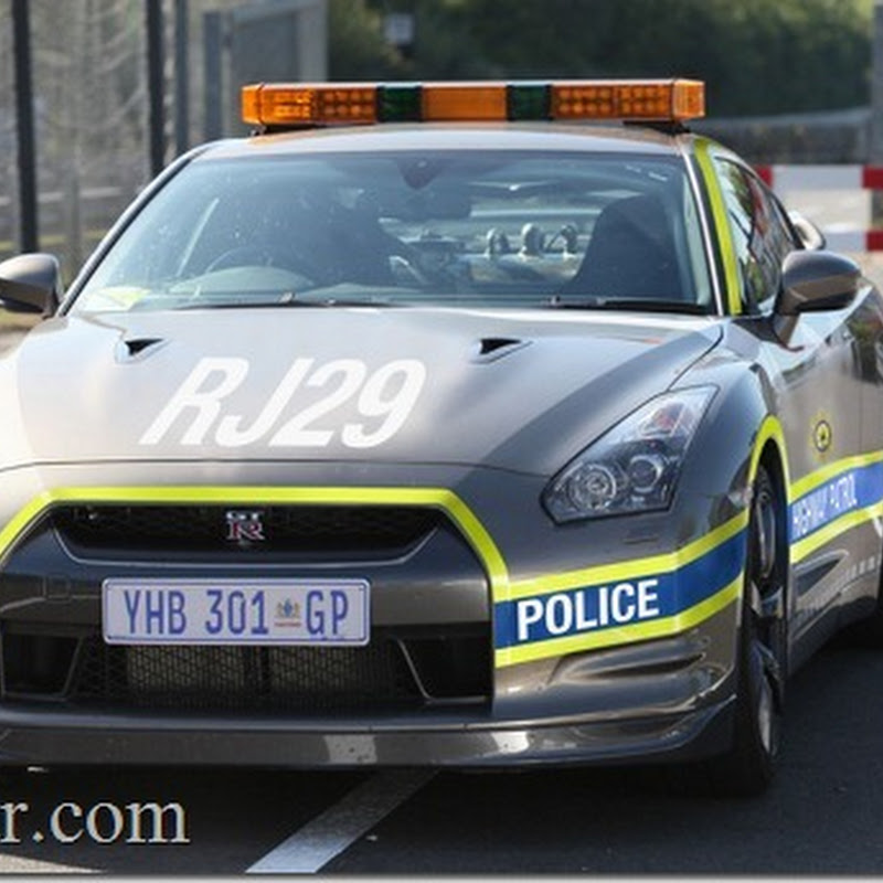 Nissan GT-R Police Cars for South Africa