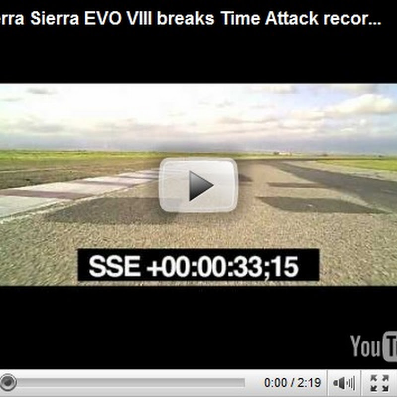 Sierra Sierra Evo Goes 1: 43.2 At Buttonwillow