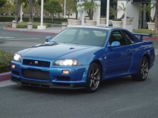 Left hand drive R34 GT-R