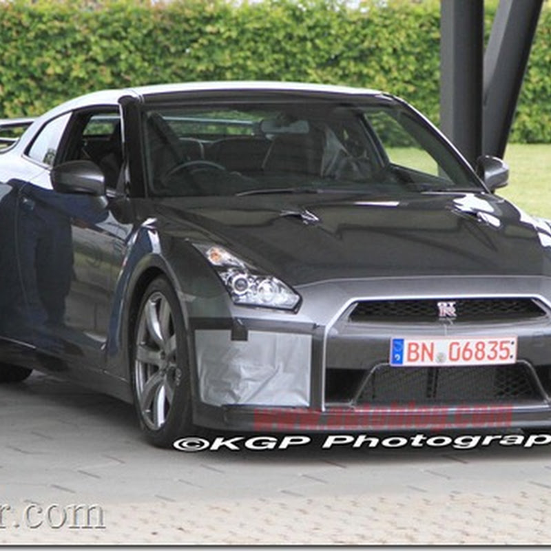 2012 Nissan GT-R at Nurburgring