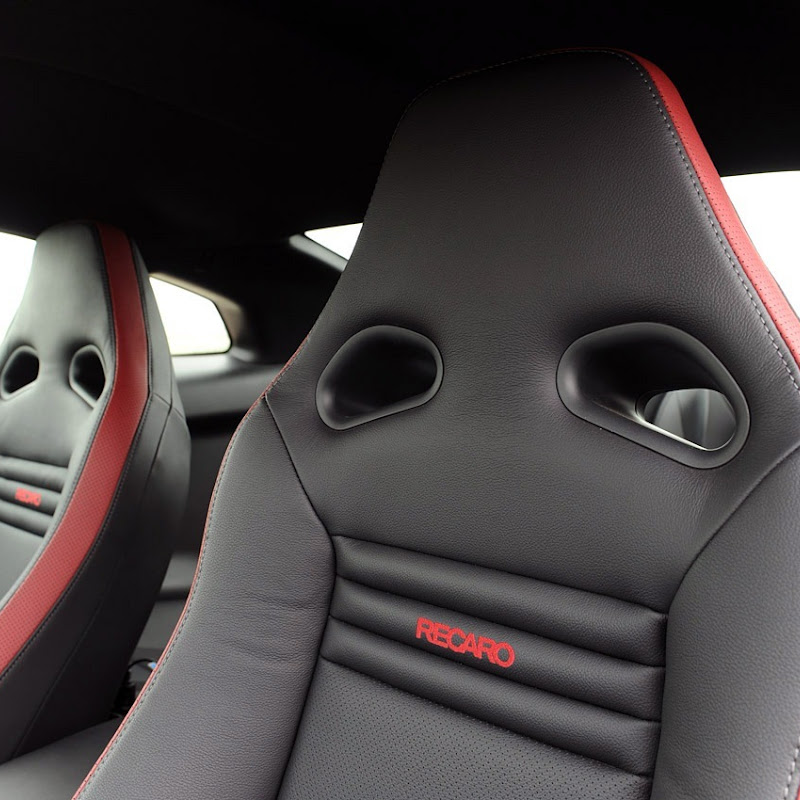 Black Edition Nissan GT-R Interior