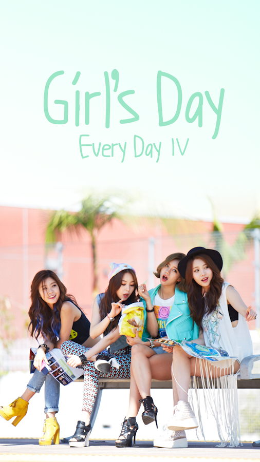 GIRL'S DAY Buzz Launcher Theme - screenshot