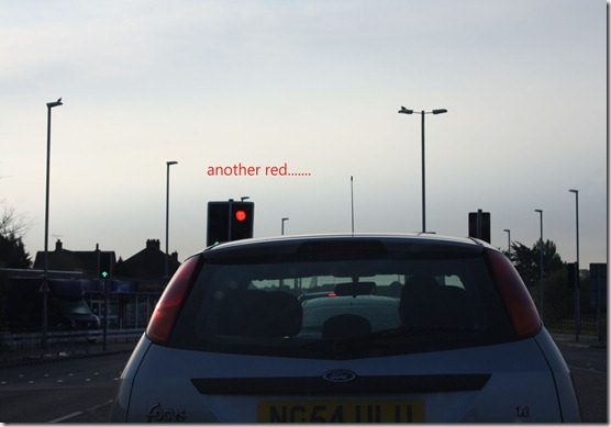 Day in photo red light