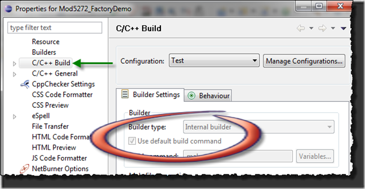 How to: Enable Eclipse's Use default build command | Tod's