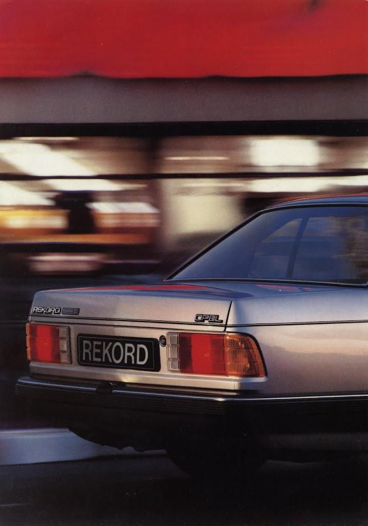 Opel Rekord Turbodiesel