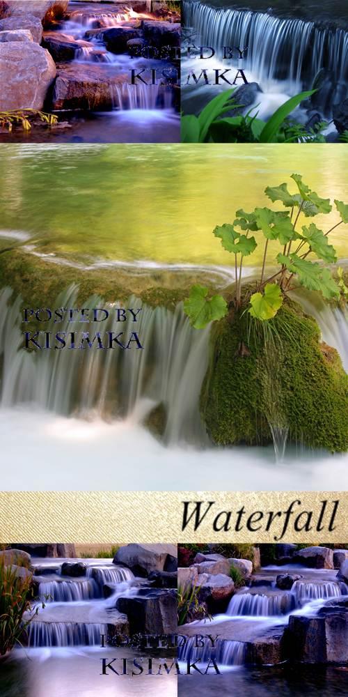 Stock Photo:  5 Waterfalls
