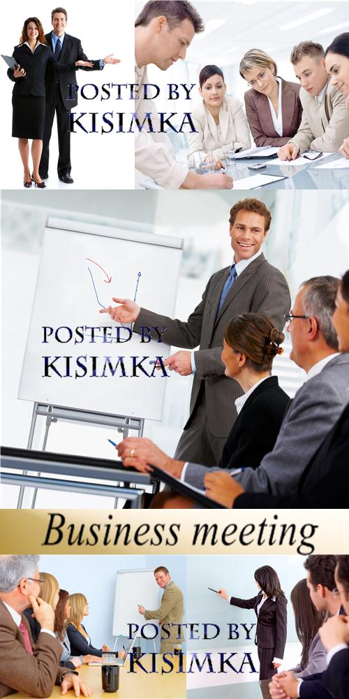Stock Photo: Business meeting 2