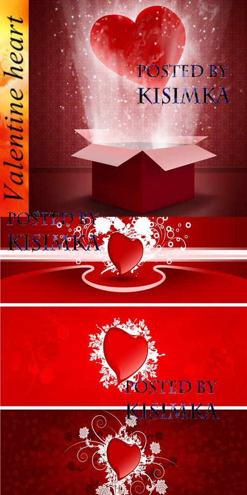 Stock Photo: Valentine heart