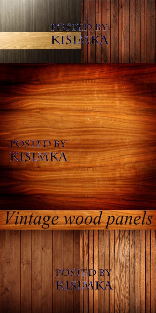 Stock Photo: Vintage wood panels