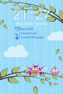 Go Locker Love Birds Theme- screenshot thumbnail