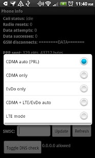 LTE OnOFF - HTC Thunderbolt - screenshot thumbnail