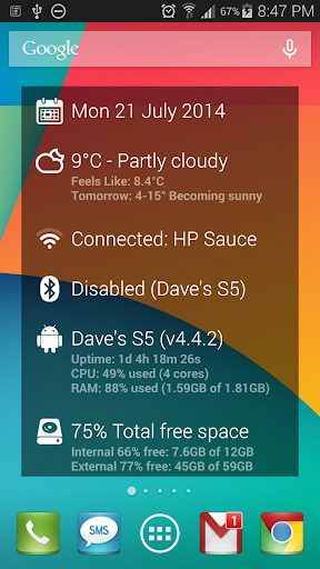 DashClock Wifi Extension