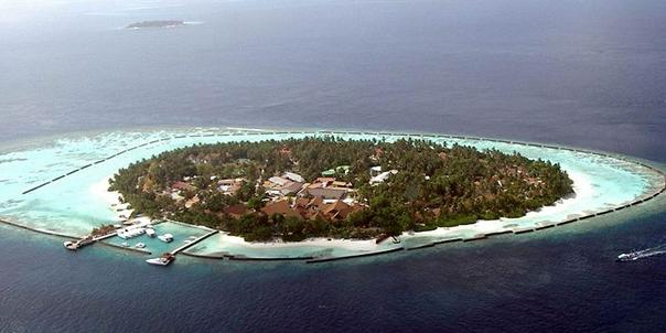 El paraiso sumergido de Maldivas