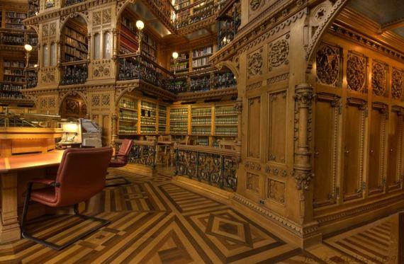 15 Bibliotecas impresionantes
