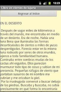 "Libro ""Un viernes de lujuria"".- screenshot thumbnail"