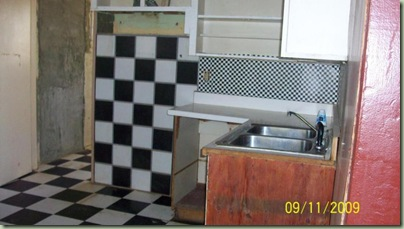 checkerboard ugly house photos