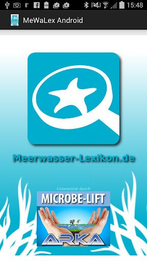 Meerwasser Lexikon