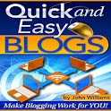 Quick and Easy Blogs logo