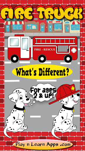 Fire Truck Game Toddler