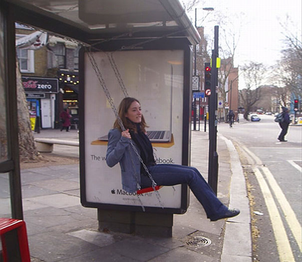 Cool Bus: 33 Cool And Creative Bus Stop Advertisements