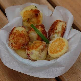 Cheesy Mashed Potato Puffs.