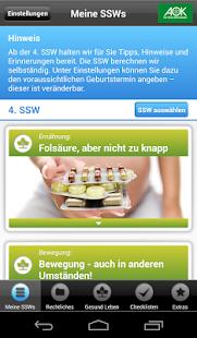 AOK Schwanger - screenshot thumbnail