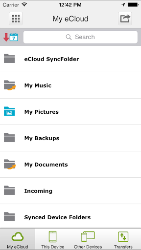 eCloud 1.1.18937 screenshots 3