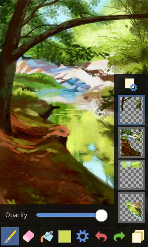 Fresco Paint Pro - screenshot