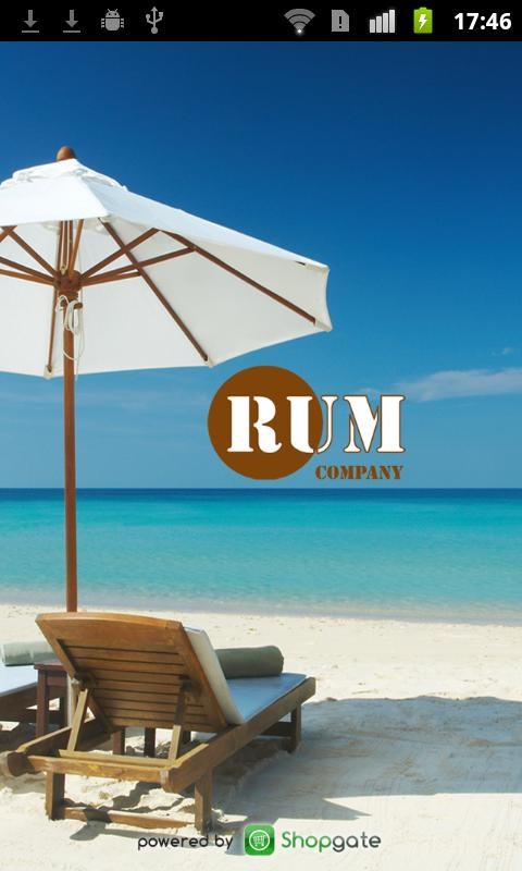Rum Company Onlineshop - screenshot